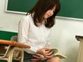 おもらし美人教師の自慰放尿1
