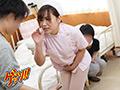 患者に利尿剤を飲まされ失禁しつつ院内を逃げ回るも犯され恥辱イキする女看護師1