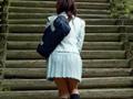 寒空の下校小便美少女3