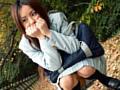 寒空の下校小便美少女1