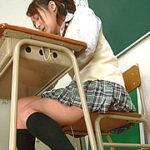 体操部女子校生の尿失態アイキャッチ
